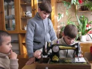 учимся шить