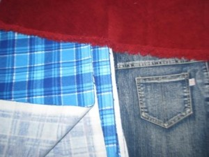 фланель джинсовая вельвет