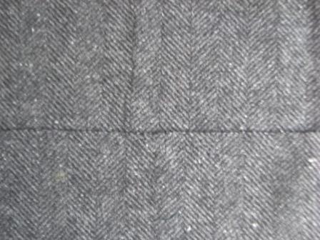 Брючная ткань. Лицевая и изнаночные стороны