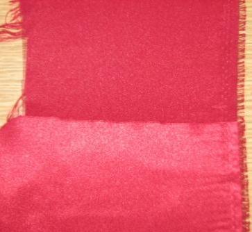 Двух сторонняя ткань. Креп-атлас