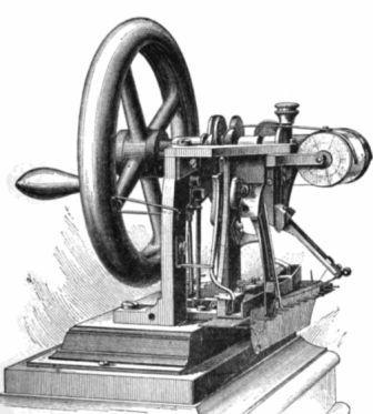 История возникновения швейной машинки реферат 9089