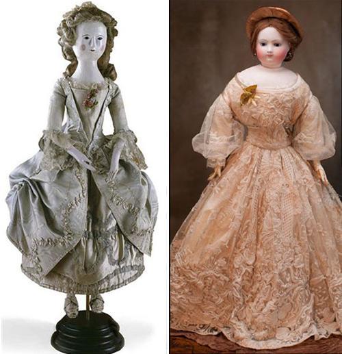 прототипы манекенов 17 век