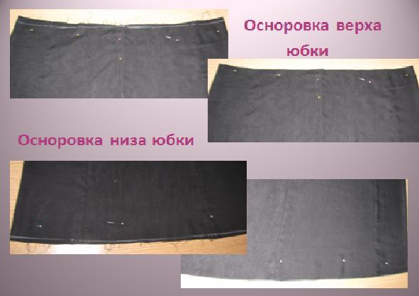 Как сшить юбку на сборке с резинкой