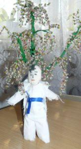 Кукла-дзюдоист