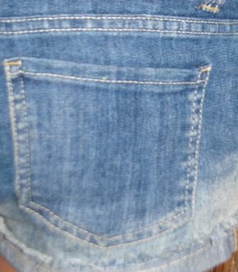 Карман накладной в джинсах