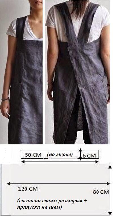 Фартук как вид одежды
