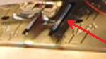 зубчатая рейка в швейной машинке