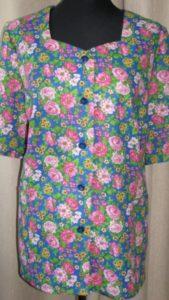 Блузка с рукавами своими руками