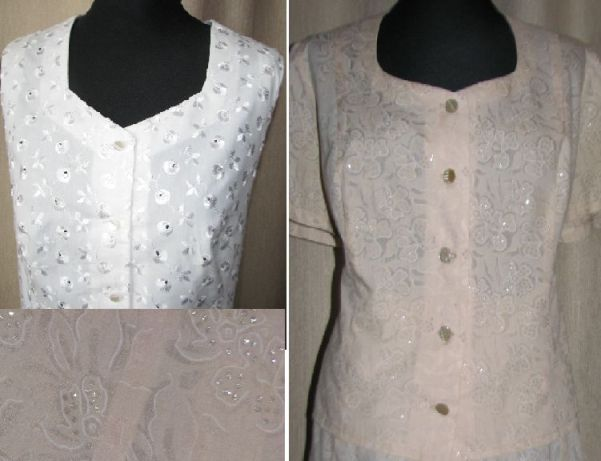 сшить блузу из хлопка