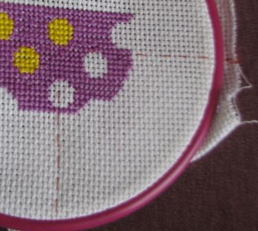 ткань +для вышивки крестом
