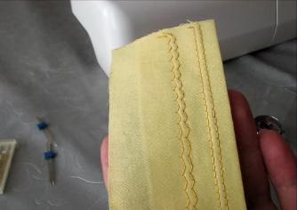 Двойная игла для швейной машины